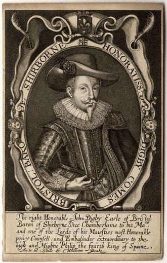 John Digby, 1st Earl of Bristol - The Earl of Bristol.