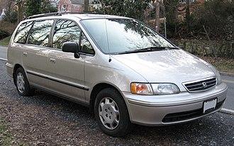 Honda Odyssey (North America) - 1998 Honda Odyssey (US)