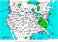 2005-02-03 Surface Weather Map NOAA.png