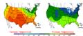 2006-05-20 Color Max-min Temperature Map NOAA.png