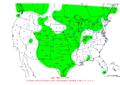 2008-03-03 24-hr Precipitation Map NOAA.png