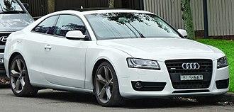 Audi A5 - Coupe (pre-facelift)
