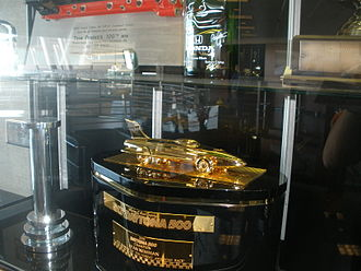 Harley J. Earl Trophy - 2008 gold-plated trophy.