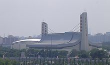 2008 Olympic Sports Center Yingdong Natatorium.JPG