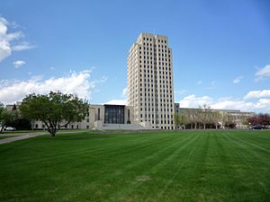 Bismarck, North Dakota - North Dakota State Capitol