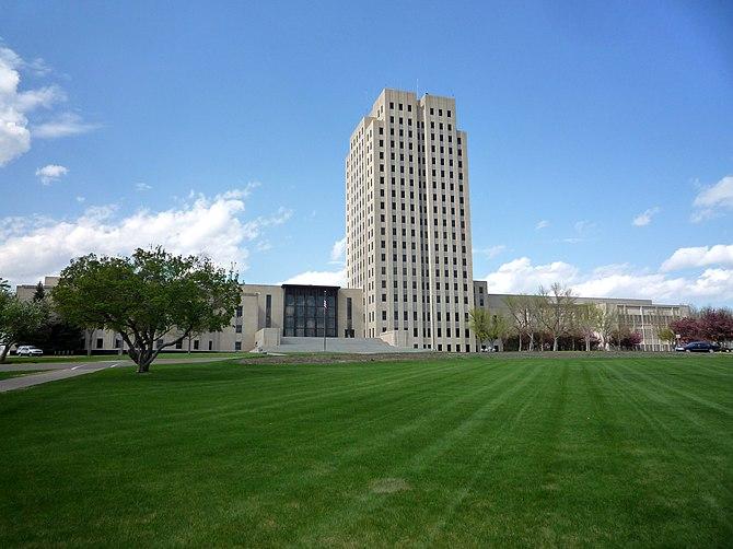 North Dakota State Capitol, Bismarck, North Dakota, USA