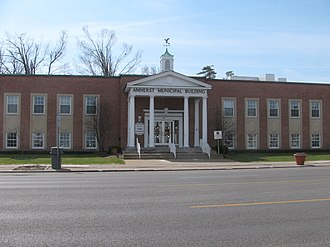 Amherst, New York - Image: 20090410 Amherst Municipal Building