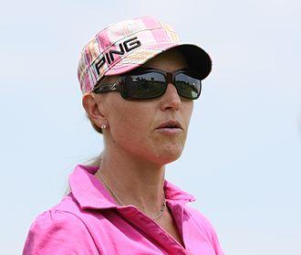 Carin Koch - Koch at the 2009 LPGA Championship