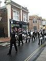 2009 Remembrance Sunday Parade heading through North Street (1) - geograph.org.uk - 1572756.jpg