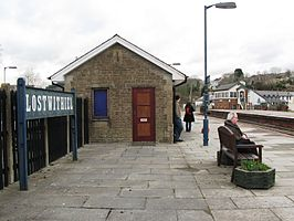 2009 at Lostwithiel station - up platform.jpg