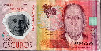 Polymer banknote - Banknote of 200 escudos, made of polymer
