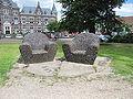 20100615-010 Amersfoort - Typisch bankje voor het Sint Pieters en Blocklandts Gasthuis.jpg