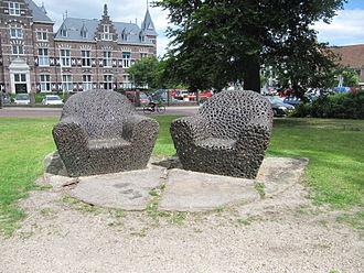 Gijs Bakker - Arty benches (2000) by Gijs Bakker