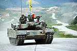 2011. 9. 육군 세계최강! 대한 육군의 주력 K1-A1전차 '불을 내뿜다' (10) (7491266378).jpg
