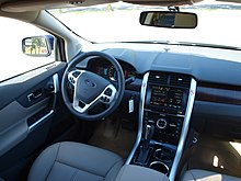 Un Ford Edge del 2011 con il MyTouch