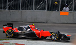 2012 Canadian Grand Prix Charles Pic Marussia MR01-02.jpg