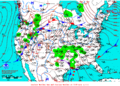 2013-01-10 Surface Weather Map NOAA.png