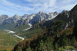 Valbonë Valley National Park - Wikipedia