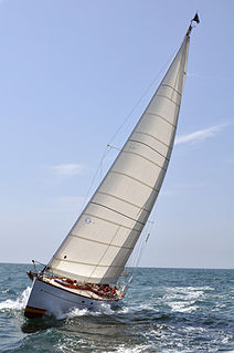 Sailing yacht Private sailing vessel with overnight accommodations