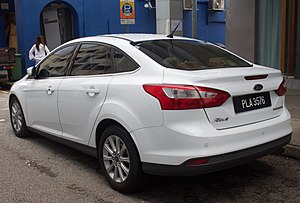 Ford Focus (third generation) - Sedan (pre-facelift)