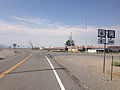 2014-07-17 09 56 34 View west along U.S. Route 6 at the junction with Nevada State Route 379 about 118 miles east of the Esmeralda County Line in Currant, Nevada.JPG