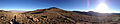 2014-10-19 08 00 03 Panorama west towards Big Smokey Valley, north towards the south summit of Mount Jefferson, and east towards Meadow Canyon from about 8780 feet along a four-wheel drive road north of Jefferson Summit, Nevada.JPG