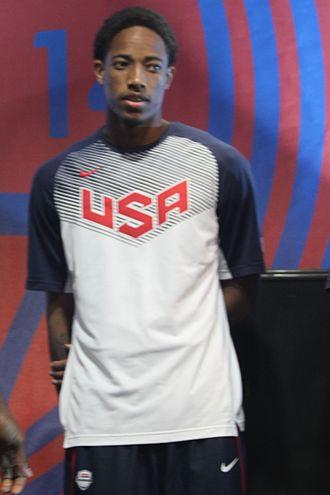 DeMar DeRozan - DeRozan with Team USA at the 2014 World Basketball Festival
