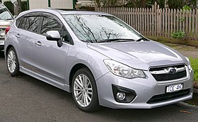 2014 Subaru Impreza (GP7 MY14) 2.0i-S 40th Anniversary hatchback (2015-07-14) 01 (cropped).jpg