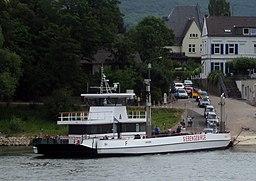 2015 07 12 Rheinfaehre Siebengebirge neu Bad Honnef