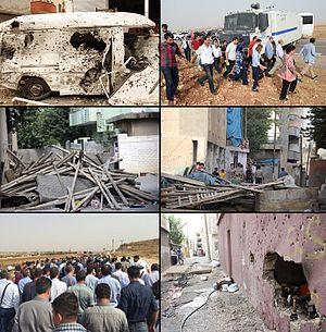 Şırnak clashes (2015–16) - Image: 2015 Şırnak ayaklanması