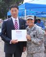 2016년 소방공무원 정해성 용산 미국 육군 기지 소방대 로프구조교육 수료 기념.png