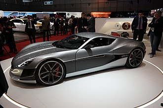 Rimac Concept One - Image: 2016 03 01 Geneva Motor Show 0975