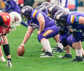 New Yorker Lions - BIG6 game between the Vikings Vienna and the New Yorker Lions, 24 April 2016.