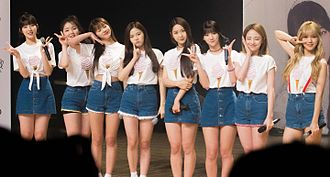 Oh My Girl - Oh My Girl at the Miracle Day fan meet in July 2016
