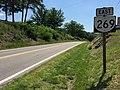 2017-06-11 11 47 57 View east along Virginia State Route 269 (Longdale Furnace Road) at Maiden Lane in eastern Alleghany County, Virginia.jpg