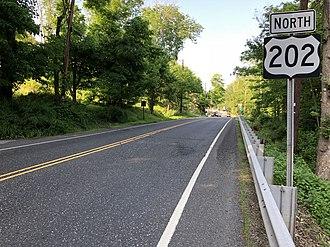 Bernardsville, New Jersey - US 202 in Bernardsville