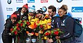 2020-03-01 Flower Ceremony Skeleton Mixed Team competition (Bobsleigh & Skeleton World Championships Altenberg 2020) by Sandro Halank–016.jpg