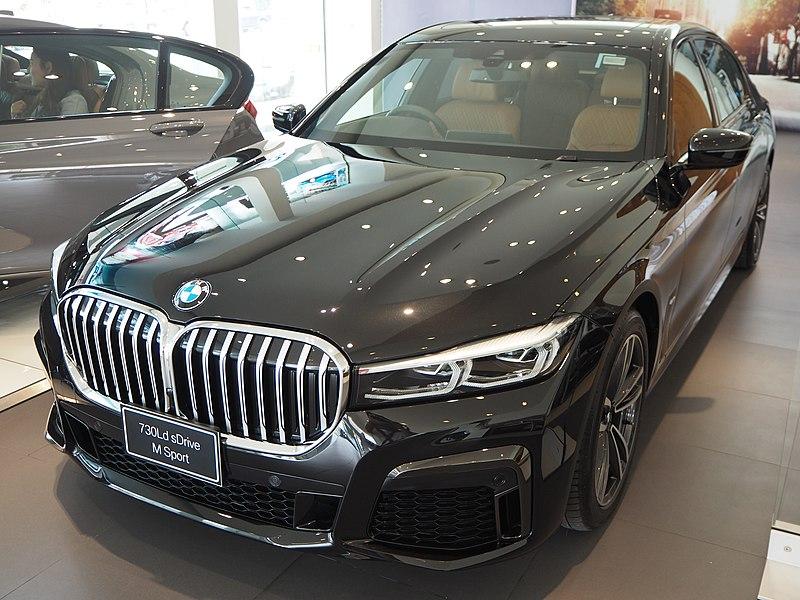 File:2020 BMW 7-Series 730Ld sDrvie M Sport.jpg