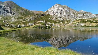 Natural Park of Marguareis Nature reserve in Italy