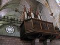 21 Santa Maria de Pedralbes, orgue i rosassa.jpg