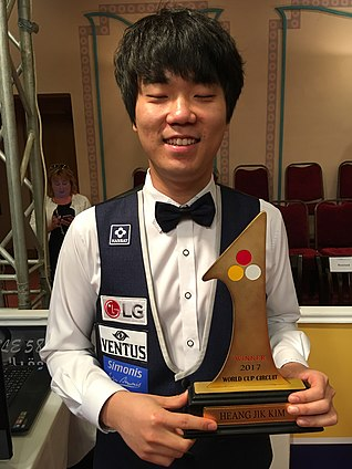 3-Cushion World Cup 2017-7-2017 Overall winner Kim Haeng-jik (KOR).jpg