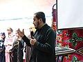 3.Presentation des projects de Wikimedia pendant la fete de Yennar Janvier 2020.jpg