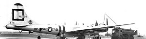 307th Operations Group - 307th Bombardment Group Boeing B-29A-75-BN Superfortress 44-62328 SAC 8th Air Force, at RAF Lakenheath, England during the Berlin Airlift, 1948