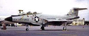 322d Fighter-Interceptor Squadron - Image: 322d Fighter Interceptor Squadron F 101B 57 295 1968