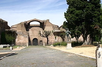 Ancient Roman architecture - The Baths of Diocletian, Rome