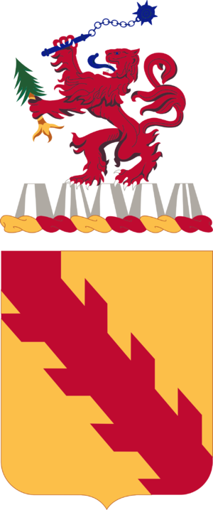 32nd Cavalry Regiment - Coat of arms