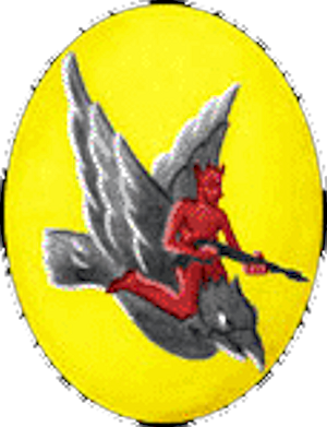 146th Air Refueling Squadron - World War II 345th Fighter Squadron emblem