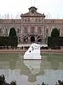 359 Parc de la Ciutadella, el Desconsol davant el Parlament.JPG