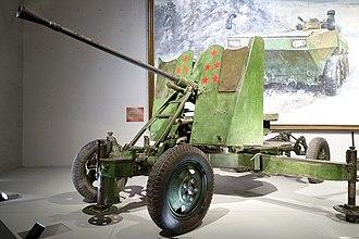 37 mm automatic air defense gun M1939 (61-K) - 37mm Anti-Aircraft Gun M1939.