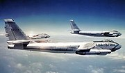 3 aircraft formation B-47Es - 306th Bombardment Wing